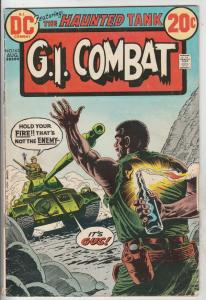 G.I. Combat #163 (Aug-73) VG Affordable-Grade The Haunted Tank