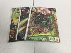 Total Justice 1-3 Lot Set Run Nm Near Min DC Comics IK