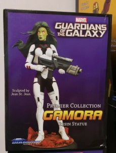 Gamora Guardians Of The Galaxy Diamond Premier Collection Resin Statue #0446