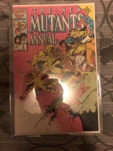 Mutants annual 2 first us app psylocke