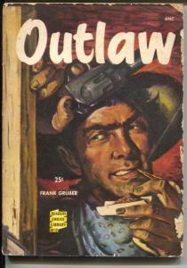 Readers Choice Library #13 1950's-Outlaw-Frank Gruber-G/VG