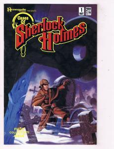 Cases Of Sherlock Holmes #1 VF/NM Renegade Comics Comic Book May 1986 DE47 AD33