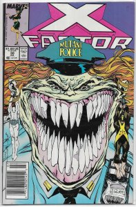 X-Factor   vol. 1   # 30 FN Simonson/Simonson, Infectia, Freedom Force