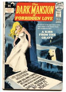 DARK MANSION OF FORBIDDEN LOVE #4-RARE DC ROMANCE/HORROR-SCARCE FN+