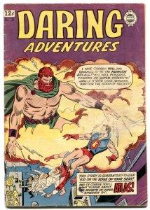 Daring Adventures #18 1963-Babe Ruth- Atlas Man of Might VG-