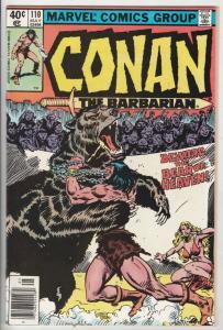 Conan the Barbarian #110 (May-80) NM- High-Grade Conan the Barbarian
