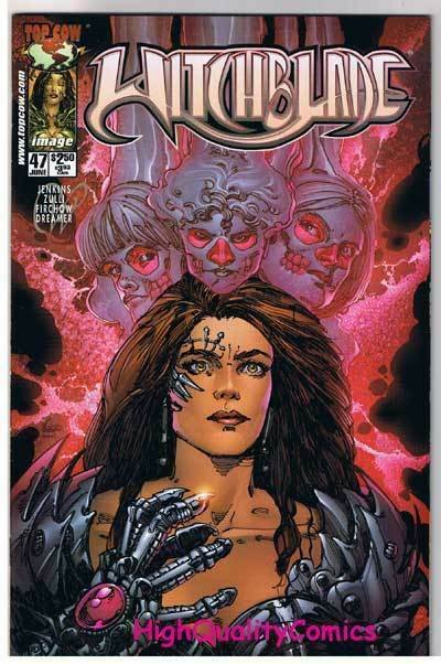WITCHBLADE #47, NM+, Femme Fatale, Michael Zulli, 1995, more in store