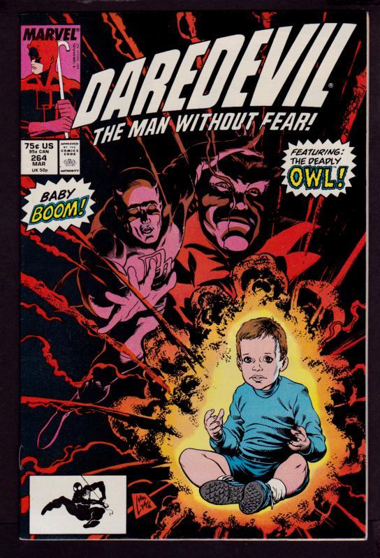 Daredevil #264    9.0 VF/NM