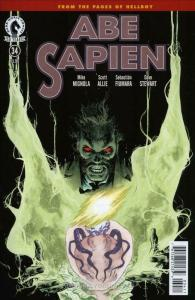 Abe Sapien: Dark and Terrible #34 FN; Dark Horse | save on shipping - details in
