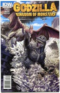 GODZILLA Kingdom of Monsters #3 B, NM, 2011, Japan, Mayhem, more Horror in store