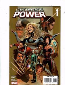 Lot Of 7 Marvel Ultimate Comic Books Power #1 2 3 Secrets #1 Vision #0 1 2 J238