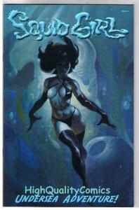 SQUID GIRL #1, VF+, Limited, Mike Hoffman, Good girl,2002, more Variant in store