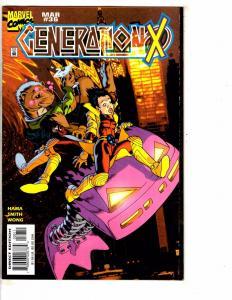 Lot Of 7 Generation X Marvel Comic Books # 36 37 47 49 55 56 58 X-Men Storm RC16