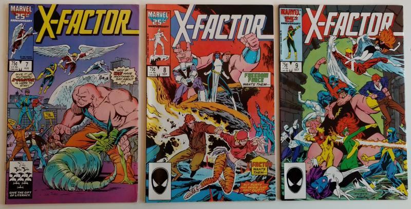 X-Factor #7, #8 & #9