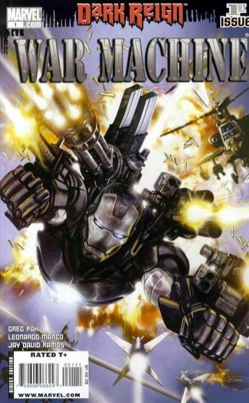 WAR MACHINE (2009) 1A-11A  DARK REIGN tie-in