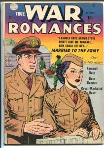 TRUE WAR ROMANCES #2 1952-QUALITY-GOOD GIRL ART PANELS-fn minus