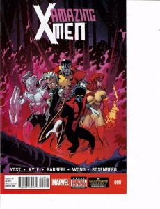Lot Of 2 Comic Books Marvel Amazing X-Men #7 and #9 Thor ON9