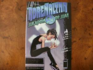 IMAGE Comic Book: ADRENALYNN WEAPON OF WAR #4 (2000) VF-NM