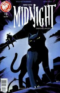 Hero Cats: Midnight Over Stellar City #3 VF/NM; Action Lab | save on shipping -