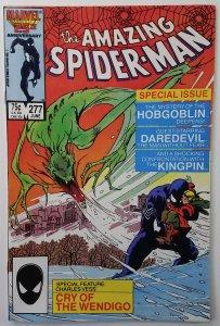 Amazing Spider-Man #277   Hobgoblin, Daredevil  High Grade  Marvel 1986