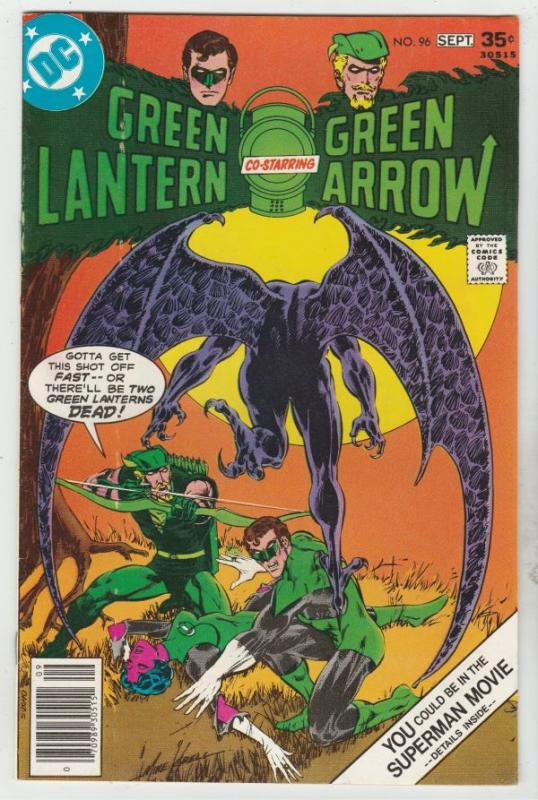Green Lantern #96 (Sep-77) NM- High-Grade Green Lantern, Green Arrow, Black C...