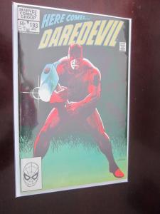 Daredevil #193 Direct - First 1st Series - 8.0 - 1983