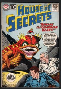 HOUSE OF SECRETS #48--ALEX TOTH!--VG--DC Silver Age! VG