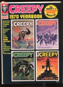 Creepy (1964 series) Yearbook #1970, VF (Actual scan)