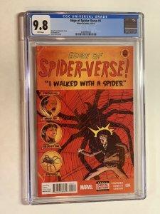 Edge of Spider-verse 4 cgc 9.8 wp