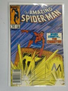 Amazing Spider-Man #267 Newsstand edition 6.5 FN+ (1985 1st Series)