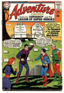 ADVENTURE COMICS #331 1965-SUPERBOY LEGION SUPER-HEROES VG.