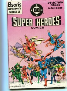 DC Super Hero Comics 2 Elson's Give Away VF