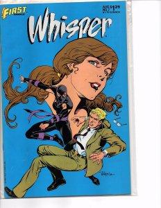 First Comics Whisper #2 (1986) Steven Grant NM