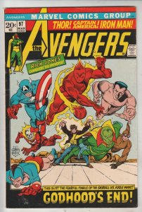 Avengers, The #97 (Mar-72) VF/NM High-Grade Avengers