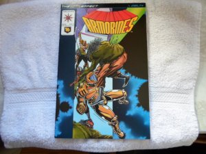 1994 VALIANT COMICS ARMORINES # 5
