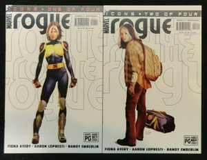 Rogue Icons #1-4 Complete Limited Series Lot of 4 NM 1 2 3 4