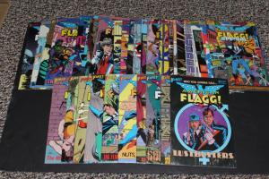 LARGE LOT! First Comics AMERICAN FLAGG! 31 Comics ~Includes Special#1 VF (HX749)