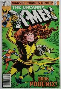 The Uncanny X-Men #135 - 1ST DARK PHOENIX COVER - Newsstand - NM - Marvel 1980