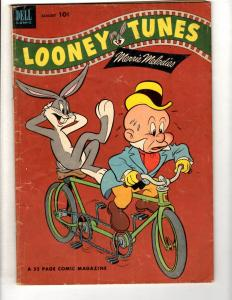 Looney Tunes # 142 VG/FN 1953 Dell Golden Age Comic Book Merrie Melodies JL10