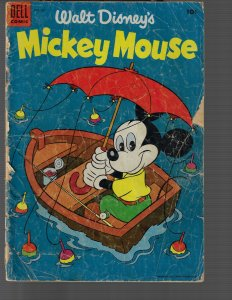 Mickey Mouse #42 (Gold Key, 1955) G-