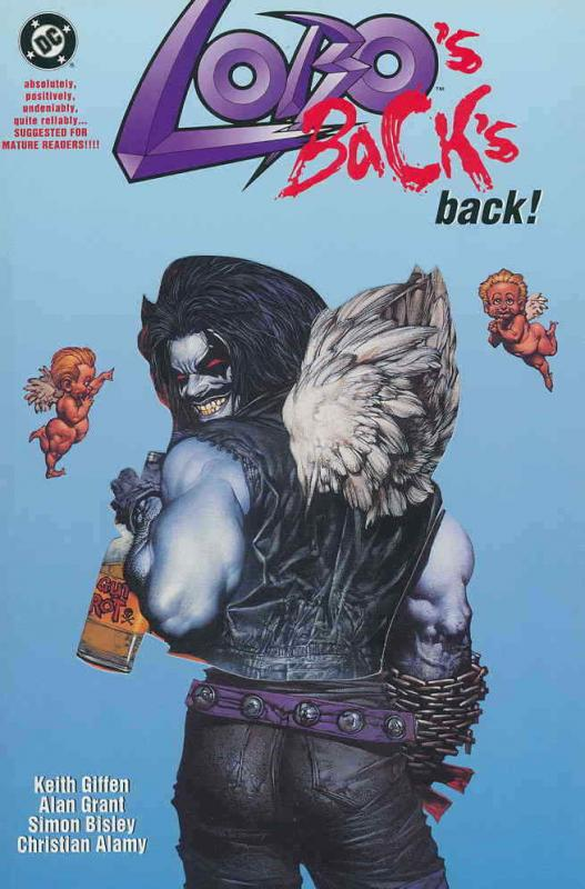 Lobo's Back TPB #1 VF/NM; DC | save on shipping - details inside