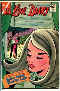 Love Diary #42 1966-Charlton-Romance triangle cover-FN