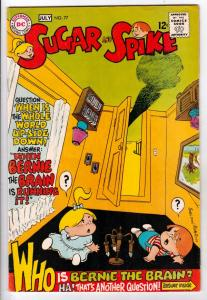 Sugar and Spike #77 (Jun-68) VF/NM High-Grade Sugar and Spike