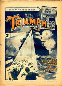 Triumph 2/9/1929-U.K. published-Fighters of The Foreign LegionVG