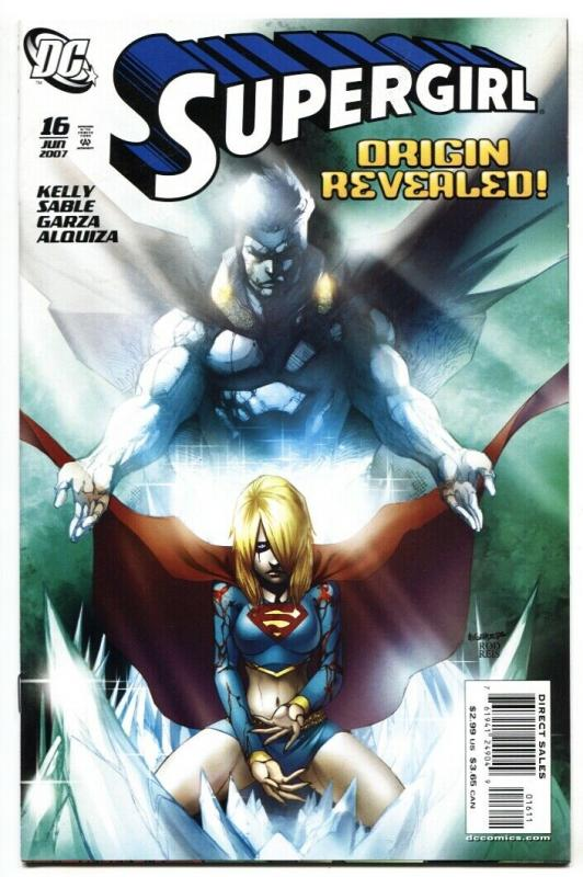 SUPERGIRL #16 2007 Origin issue DC comic book