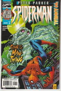 Peter Parker Spiderman Annual 1999  The Man Thing Saga Concludes !