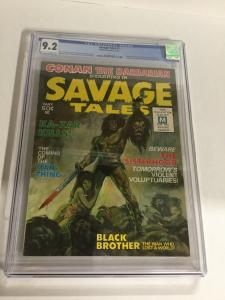 Savage Tales 1 CGC 9.2 OW/W Pages First Appearance Of Man -Thing 2026037008