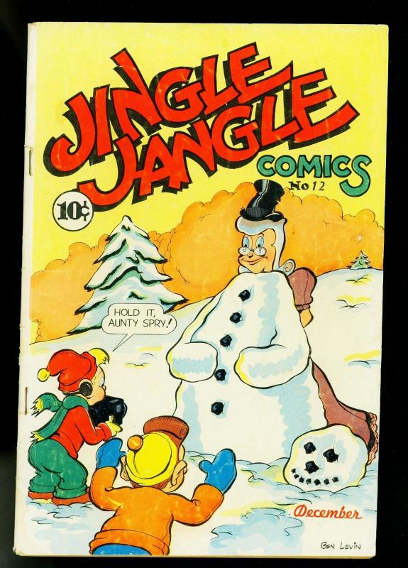 Jingle Jangle #12 1944- Famous Funnies- Funny Animals- VG+