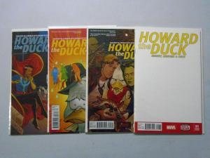 Howard the Duck (4th Series) Run:#1-4, 8.0/VF (2015)