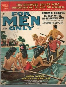 For Men Only-5/1960-Atlas-Mort Kunstler-Al Rossi-Rudi Nappi-cheesecake-VG